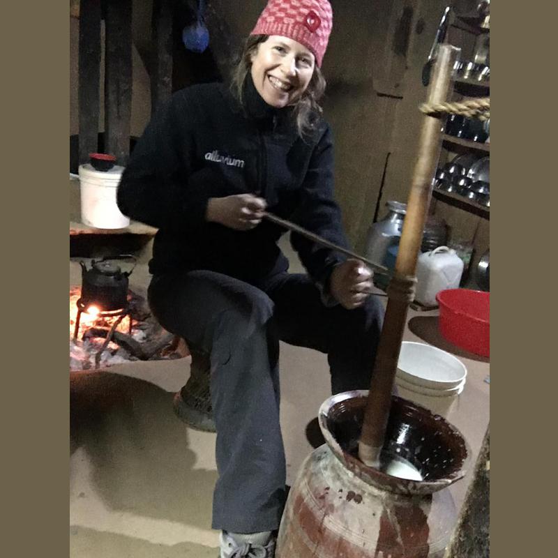 Keryn in Nepal