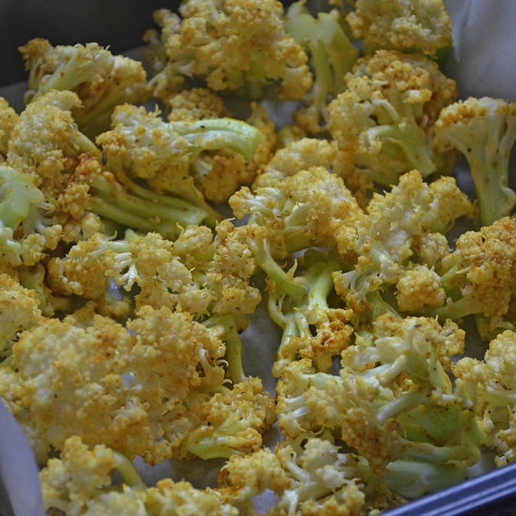 Recipe: Roasted Spiced Cauliflower