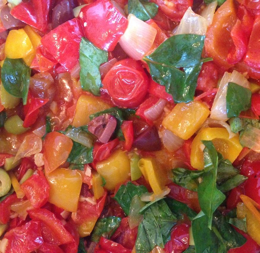 Recipe: Peperonata Napoli-style