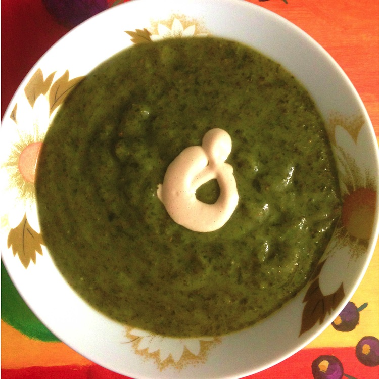 Recipe: Spinach Soup with Cumin