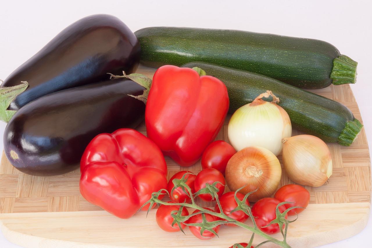 Recipe: Chickpea Eggplant Summer Veggie Bake